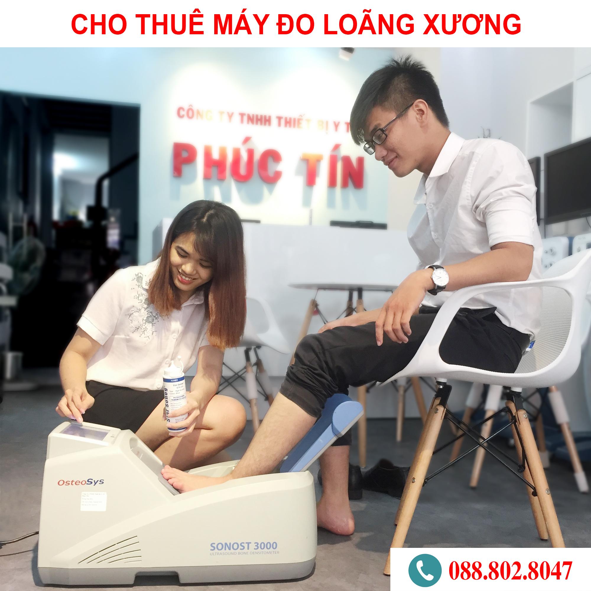 Cho thuê máy đo loãng xương Hàn Quốc