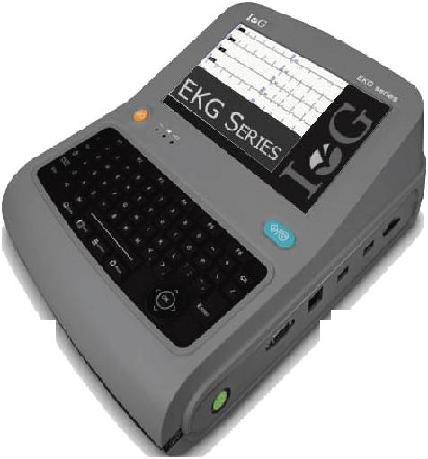 Máy đo điện tim 12 kênh EKG III - IG Medical Đức
