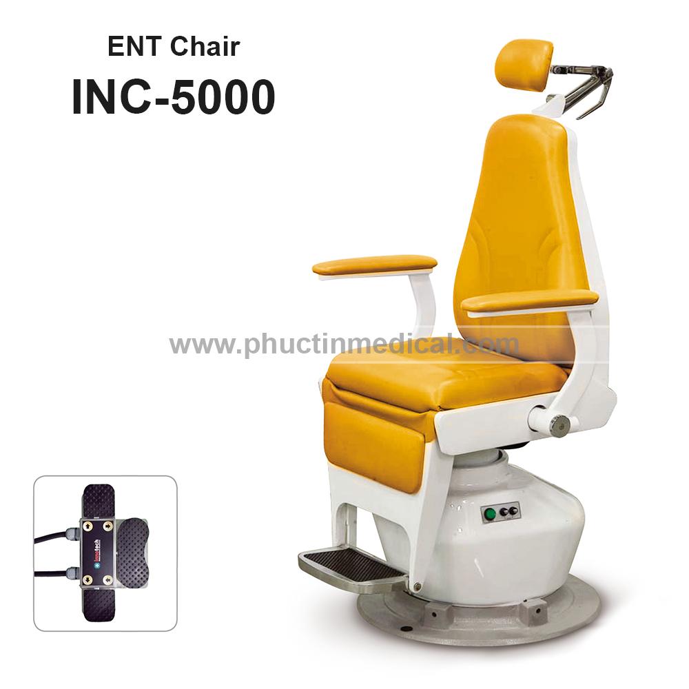 Ghế khám và điều trị tai mũi họng INC 5000 - Innotech Hàn Quốc