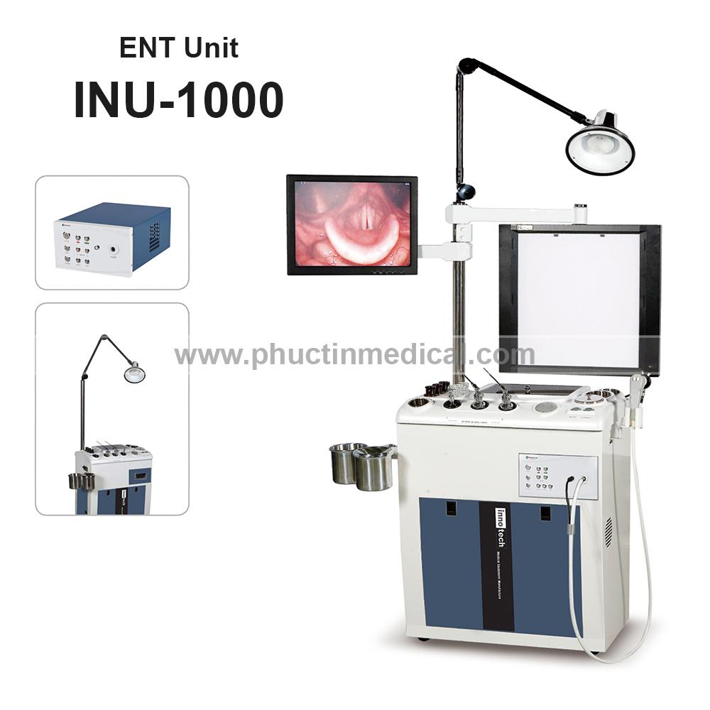 Bàn khám và điều trị tai mũi họng INU 1000 - Medone Innotech - Hàn Quốc