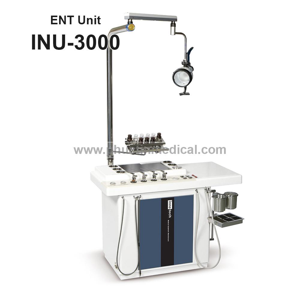 Hệ thống bàn khám & điều trị tai mũi họng INU-3000 Medoen Innotech  - Hàn Quốc