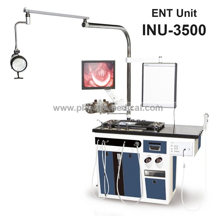 Hệ thống bàn khám soi tai mũi họng Innotech INU-3500 - Hàn Quốc