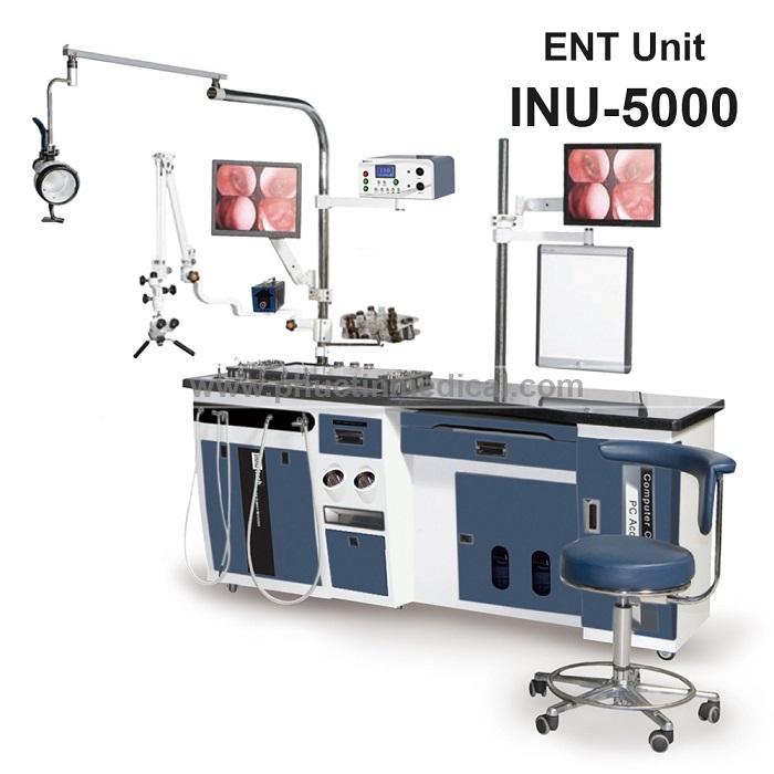 Hệ thống bàn khám và điều trị tai mũi họng INU 5000 - Medone Innotech - Hàn Quốc