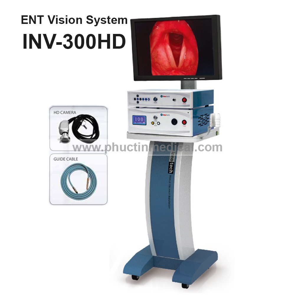 Máy soi tai mũi họng INV 300 Full HD - Medone Innotech - Hàn Quốc