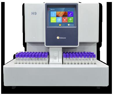 Máy xét nghiệm HbA1c tự động hoàn toàn H9 Lifotronic