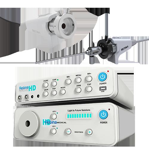 Máy soi Tai mũi họng Full HD OLED-220S/D & Nguồn sáng OLED-210S/D - RETINA Hàn Quốc